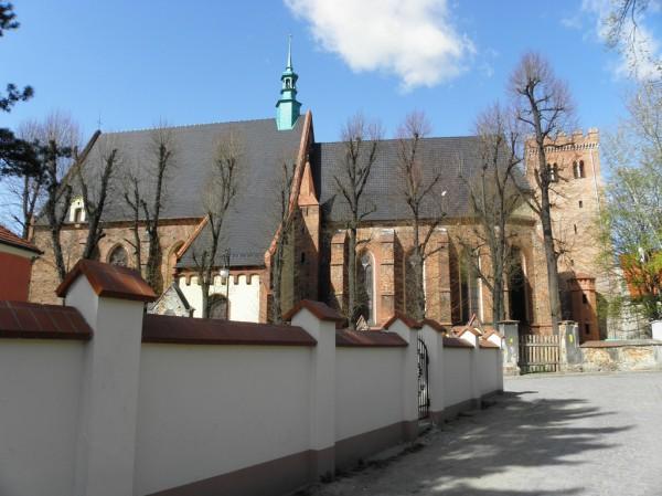 Ząbkowice Śl. - church & leaning tower