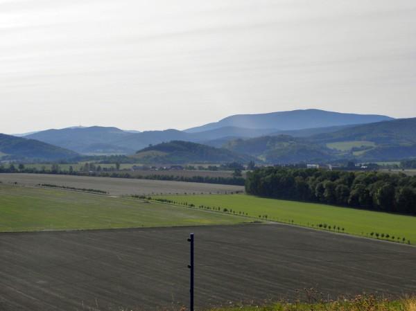 Panorama z Lanskego vrchu
